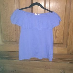 Girls lavender colored top size 12 from GAP.